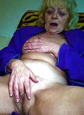 Superannuated granny pretend